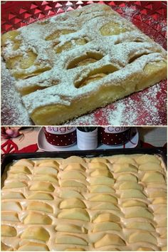 Greek Sweets, Greek Desserts, Cookbook Recipes, Cooking Recipes, Bread Dough Recipe, Fruit Pie, Waffles, Food And Drink, Pudding