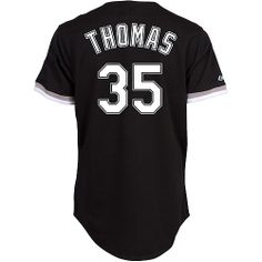 de7bbe7b $$19$$ For 2014 Chicago White Sox #35 Frank Thomas Black Men's MLB Jersey
