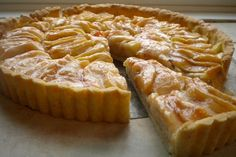 Dutch Apple Tart is an open-faced dessert that makes its own syrup, resulting in a delectably sweet, luscious dessert.  Perfect with whipped or ice cream.