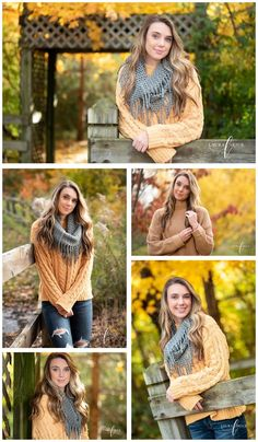 Westfield High School Senior in the midst of fall splendor for her senior pictures with Laura Arick Photography at beautiful Cool Creek Park Outdoor Senior Pictures, Fall Senior Pictures, Country Senior Pictures, Senior Photos Girls, Senior Girl Poses, Senior Girls, Senior Session, Senior Posing, Girl Photos