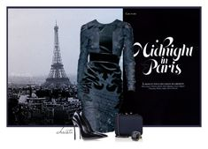 """""""Midnight in Paris"""" by christa72 ❤ liked on Polyvore featuring Gucci, Casadei, Barneys New York and Accessorize"""