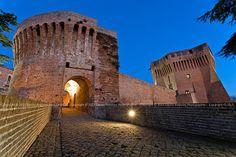 Rocca di Mondavio in provincia di Pesaro Urbino