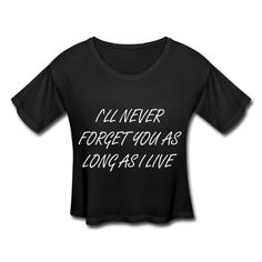 """""""Never Forget"""" Women's Cropped Boxy T-Shirt inspired by Taylor Swift"""