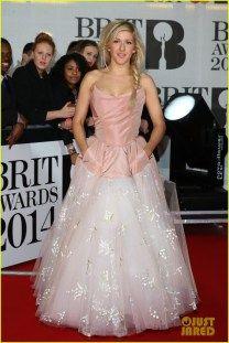 BRIT AWARDS 2014 - Ellie Goulding
