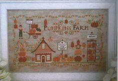 CUORE E BATTICUORE: Pumpkins Farm Autumn by NeedleCaseGoodies