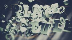 PlaceFull / Mr.Frukta & Andaur Studios by Alexey Frolov, via Behance