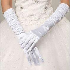 Gants en satin #Mariage #Wedding