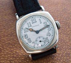 4e33bcf74ab Vintage Watches Collection   WW1 Era Waltham Wrist Watch