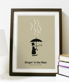 The only singing in the rain poster I could find.  Sad.