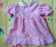 60s Baby Dress 12/18 Months by lishyloo on Etsy