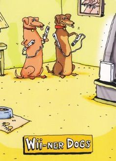 """Greeeting Card Birthday Humor """"Wii-ner Dogs"""" Any Way You Play It,.."""":Amazon:Health & Personal Care"""