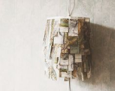 mountain map lamp by umbu on Etsy, CHF175.00