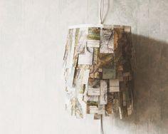 mountain map lamp by umbu on Etsy, CHF175.00