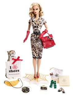 NEW! 2016 Charlotte Olympia Barbie Doll ~ Gold Label Only 2700 Worldwide In Hand #Mattel