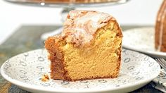 Vanilla pudding pound cake