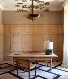 oak and floor pattern