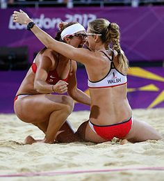 Misty May-Treanor & Kerri Walsh Jennings