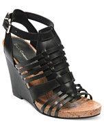 BCBGeneration Shoes, Blayne Platform Wedge Sandals