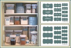 Create+an+Organized+Baking+Cabinet+with+Free+Printable+Labels.
