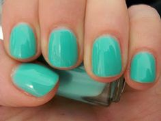 Essie Turquoise & Caicos - March pedicure with Mom :-)