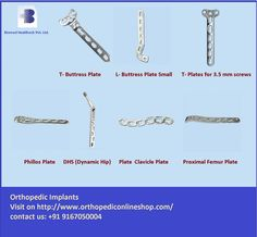 #OrthopedicImplants #suppliers and online shop for orthopedic surgical instruments and implants.