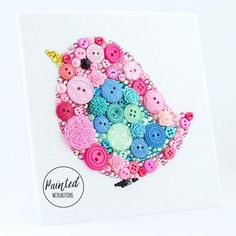 Beautiful Button Art Ideas The Best Collection   The WHOot