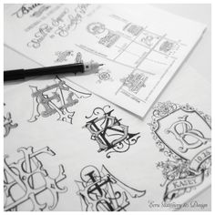 Custom Hand-Drawn Maps by ECRU Stationery & Design