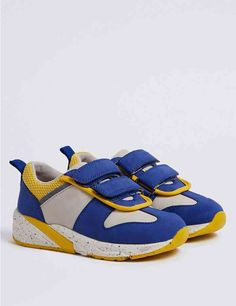 Buy the Kids' Colour Block Trainers Small - 12 Small) from Marks and Spencer's range. Colour Block, Color Blocking, Cotton Lingerie, Suit Shop, Boys Accessories, Gift Hampers, Designer Sandals, Coloring For Kids, Gift Bags