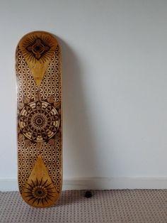 8 pont de skateboard personnalisé en bois par EasternSapphire
