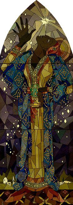 Kate Baylay - Saint Balthazar  -  Saints series