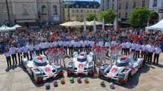 LM24: Day 1 Report, Scrutineering part 1, Audi Sport. RACER.com