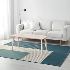 ROSKILDE Rug, flatwoven, indoor/outdoor green-blue - IKEA - for the living room. Ikea Outdoor, Outdoor Rugs, Indoor Outdoor, Outdoor Furniture, Small Living Room Design, New Living Room, Living Room Designs, Ikea Exterior, Interior Exterior