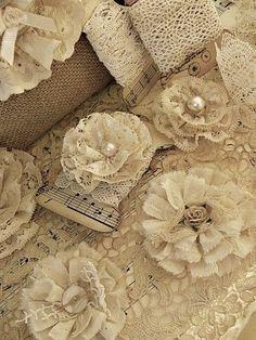 Lace flowers by lawanda