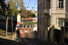 A street in Lisbon by The Globetrotting photographer