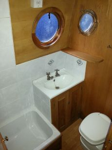Small  Tub with Teak frame