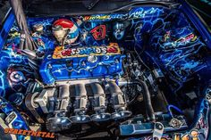 Wow, what a engine bay.