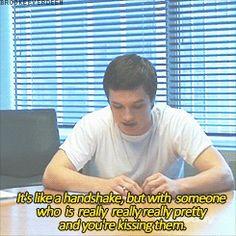 Josh Hutcherson on kissing scenes.