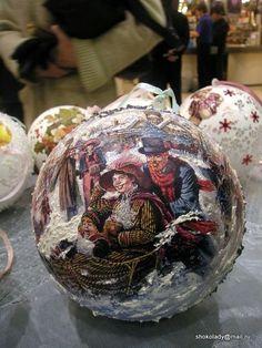 Gallery.ru / Photo # 22 - Dekupazh- Christmas toy - shokolady