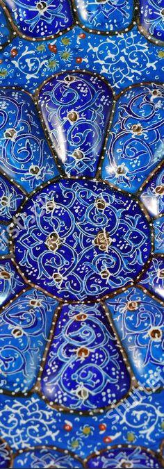 mina meenakari handicraft Naghshe Jahan Square - UNESCO World Heritage Site | Iran Im Blue, Love Blue, Deep Blue, Blue And White, Azul Anil, Everything Is Blue, Bleu Indigo, Pantone, Blue Aesthetic