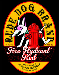 Rude Dog will put the fire out with this one. Spade Tattoo, Dog Pounds, Dog Branding, Beer, Dogs, Root Beer, Ale, Pet Dogs, Doggies