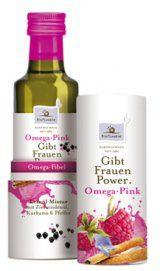 Omega Pink - gibt Frauen Power! - Bio Planète
