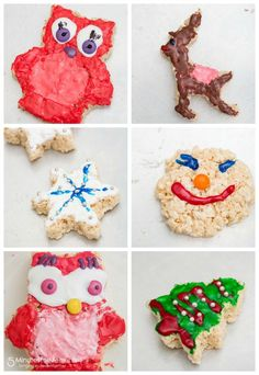 Rice Krispies Treats - Cookie Cutter Treats - Get your kids to decorate Rice Kripies this year!