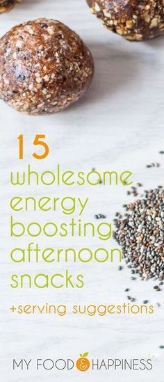 Feeling sleepy in the afternoons? Coffee is not the only answer, try these 15 wholesome energy boosting snacks to help you keep up your concentration and productivity levels! 13 out of the 15 are vegan. Boom!