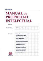 Manual de propiedad intelectual / Rodrigo Bercovitz Rodríguez-Cano ... [et al.]. Tirant lo Blanch, 2015