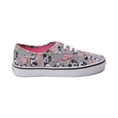 Disney and Vans Authentic Minnie Mouse Skate Shoe