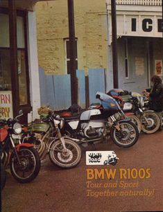 BMW R100S 1980 Magazine article. 7 page motorcycle article taken from Australian magazine. by VintageMotorcyclesOz on Etsy