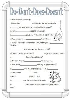 Grammar Worksheets for Kids. 20 Grammar Worksheets for Kids. Grammar Worksheet for Kids Esl Worksheet by English Grammar For Kids, English Grammar Tenses, Teaching English Grammar, English Worksheets For Kids, English Lessons For Kids, English Writing Skills, Learn English Words, Grammar Lessons, English Language Learning