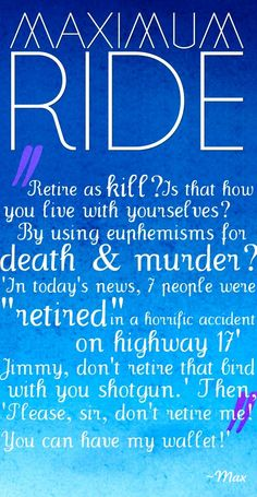 Maximum ride angel experiment quotes