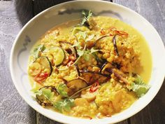 Rezept: Gemüse-Linsen-Curry