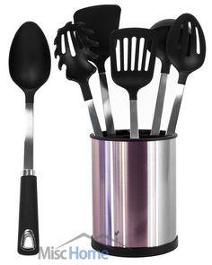 10 top 10 best stainless steel kitchen utensil set reviews images rh pinterest com